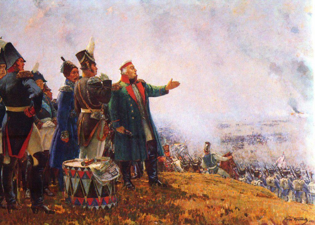 Клеточкам самые, открытки бородинская битва