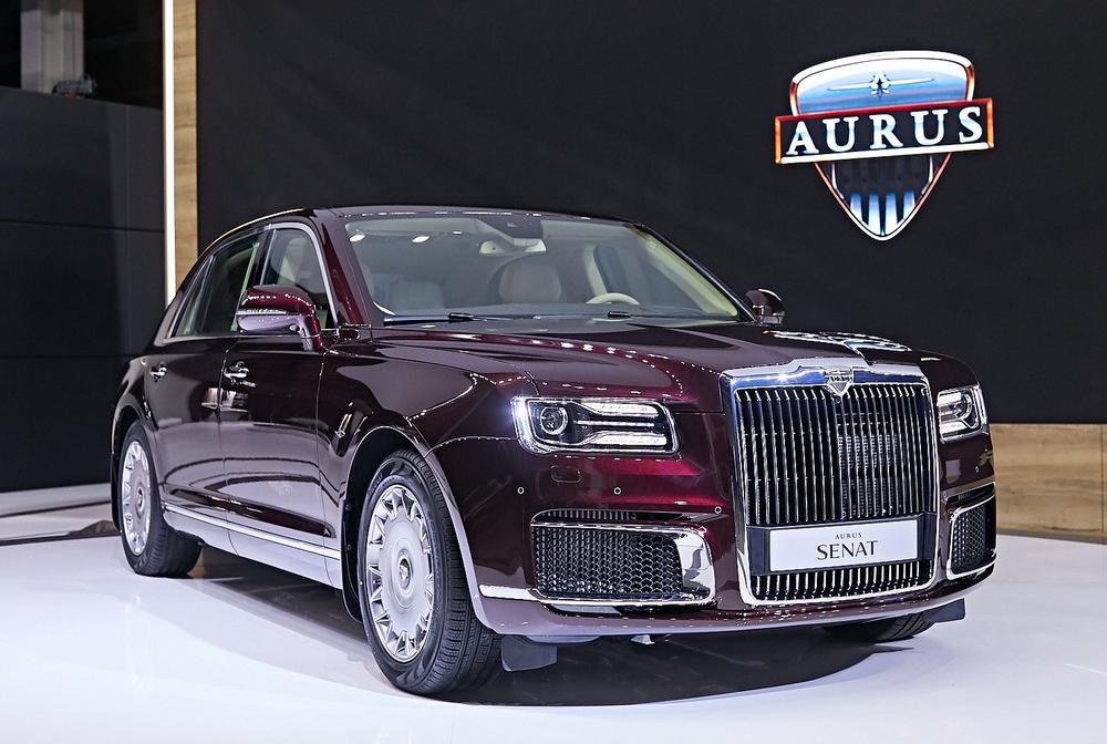 Đã có giá cho siêu xe Aurus Senat Sedan