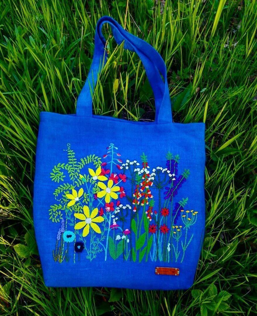 Сумки-шоперы ручной работы handmake,вышивка,разное,сумки