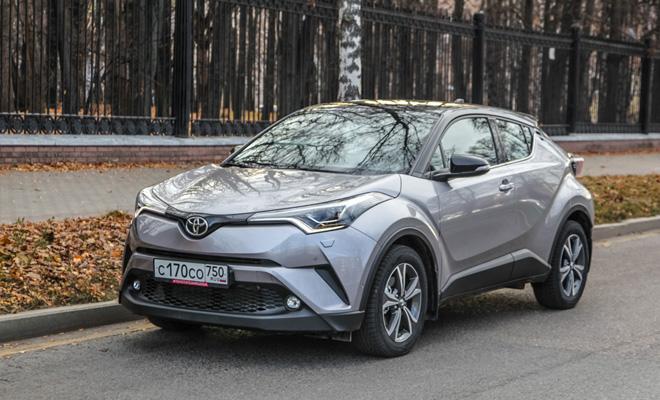 Тест-драйв: Toyota C-HR
