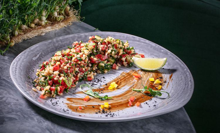 Легкий ужин: салат табуле с булгуром