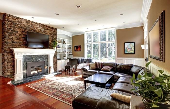 Практичные идеи, которые помогут преобразить гостиную.