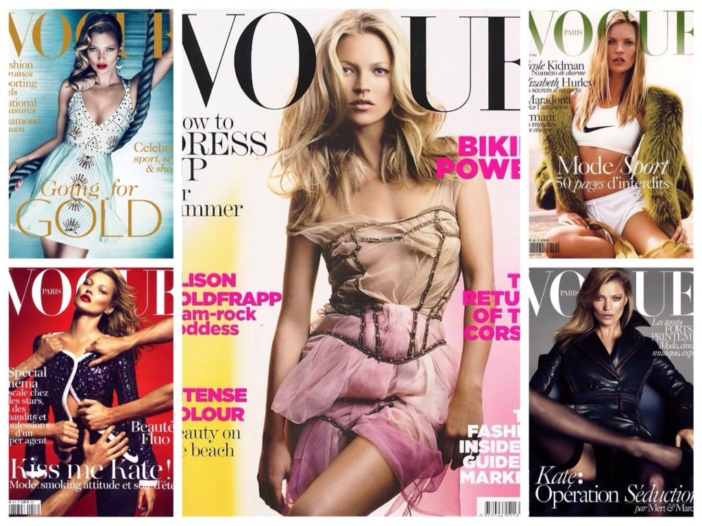 Обложки журналов с Кейт Мосс