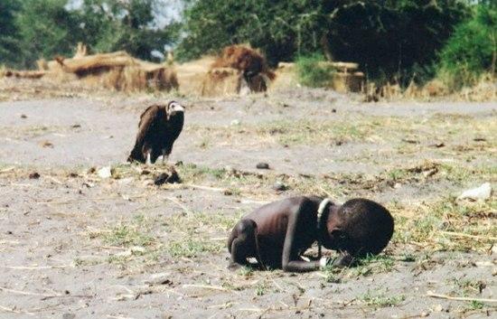 История фотографии «Голод в Судане»