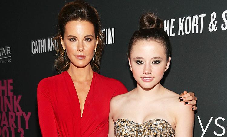 Дочь Кейт Бекинсейл прокомментировала роман матери с 22-летним рокером Дети,Дети знаменитостей