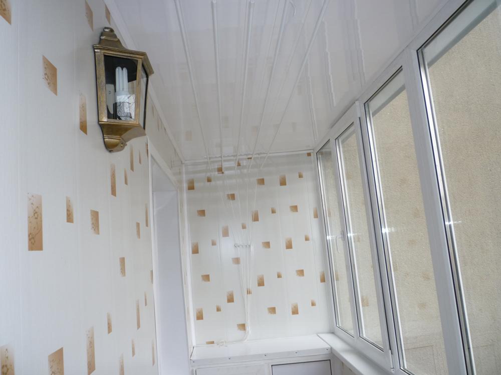 Оформление балкона.