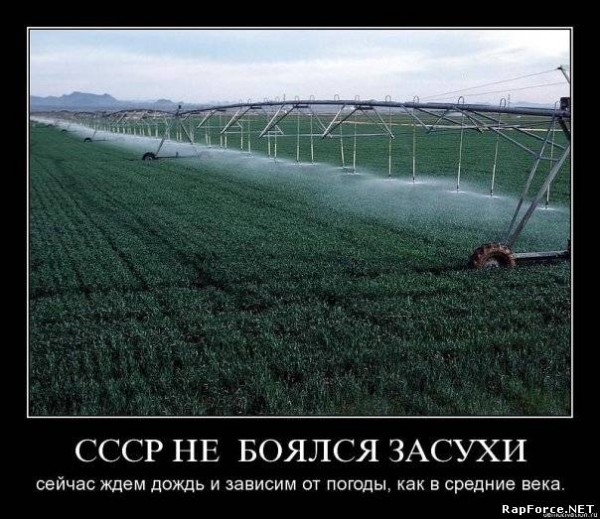Состояние российской экономики вновь, как при царе, определяет погода. С модернизацией!