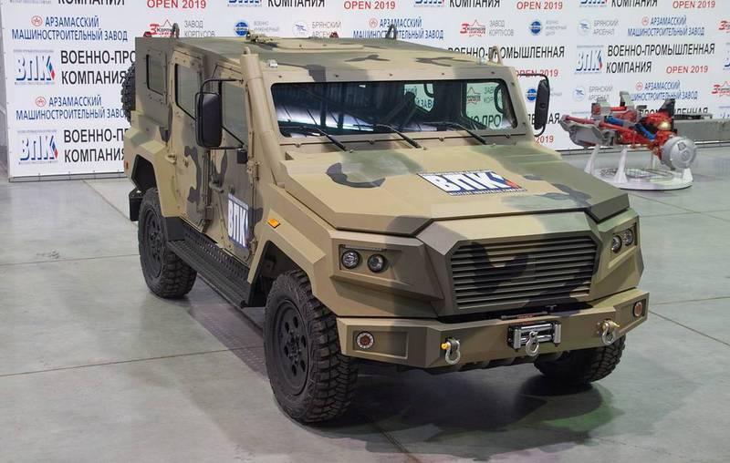 На форуме «Армия-2020» покажут плавающую версию бронеавтомобиля «Стрела»