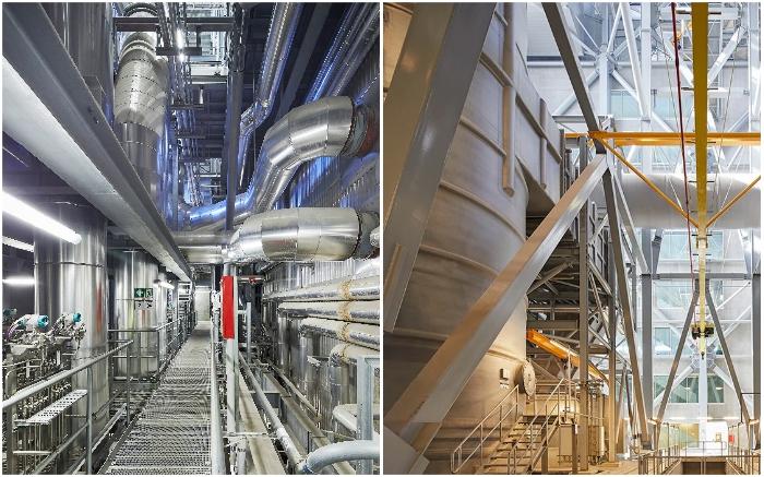 Инновационные технологии и надежное очистное оборудование позволяют максимально очищать выбросы (Amager Bakke, Копенгаген). © Hufton + Crow.