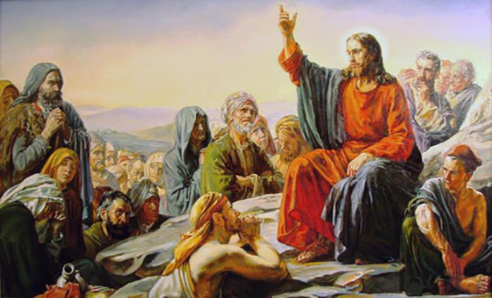 Нагорная проповедь Христа.