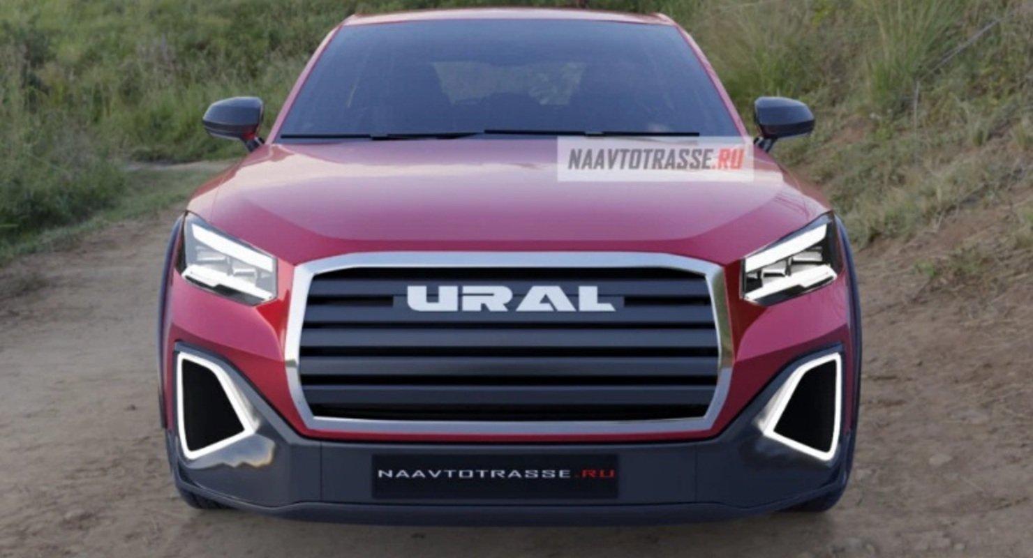 Представлен новейший кроссовер Урал-4320 2021 года — будущий конкурент Kia Seltos Автомобили