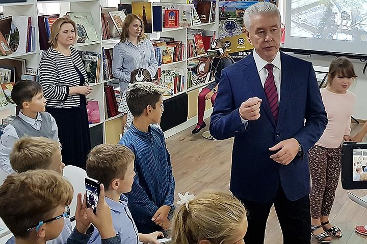 В Москве появилась первая smart-библиотека