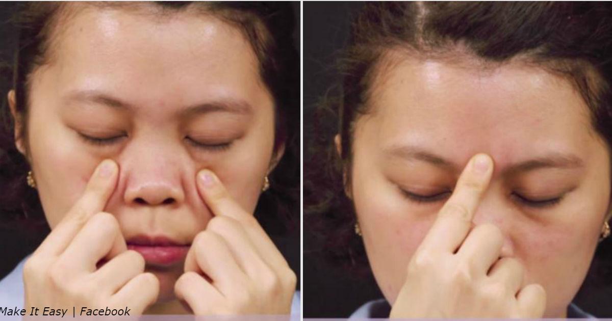 5 точек для избавления от головной боли за 5 минут