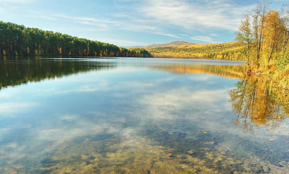 Загадки озера Инышко  на Урале