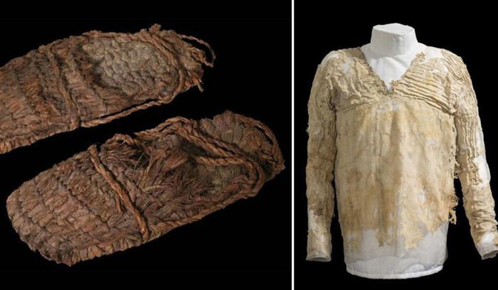 Самые древние образцы одежды, найденные археологами