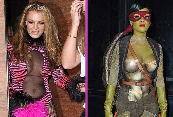 15 вульгарных, дурацких и слишком откровенных костюмов звезд на Хэллоуин