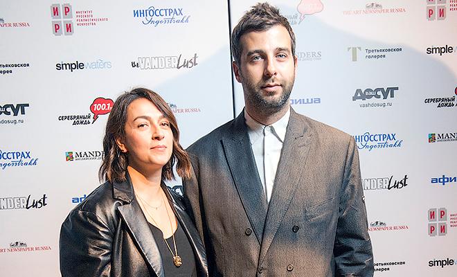 Иван Ургант с женой, Нонна Г…
