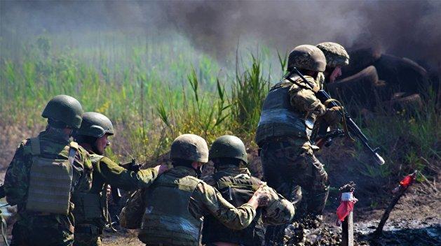 Войска выходят с передовой в…