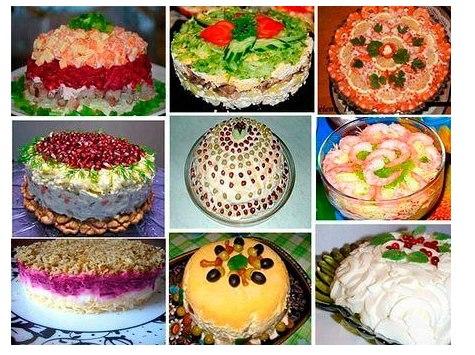 15 вкусных салатов для праздничного стола