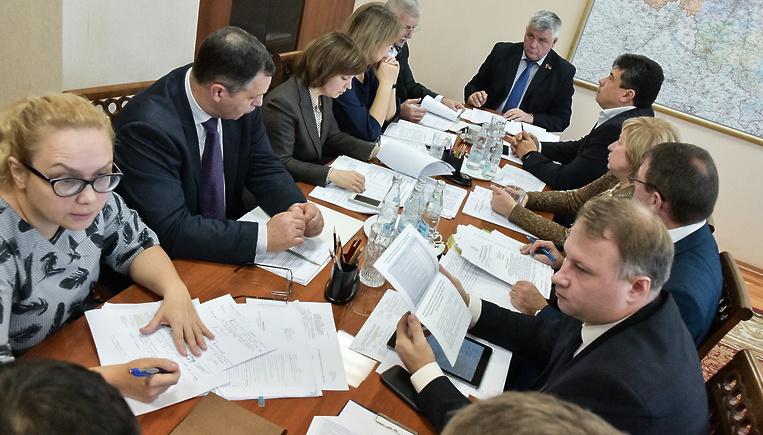 Расходы бюджета Московской о…