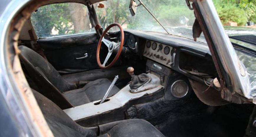 Уникальная находка: Jaguar E-Type, который эксплуатировался в сердце Африки целых 40 лет авто