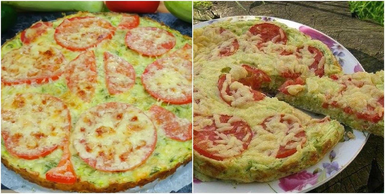 Рецепт легкой кабачковой пиццы. Вкусное летнее блюдо для всей семьи!