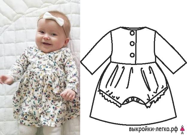 Приданое для малыша своими руками одежда