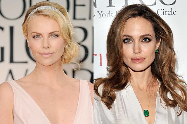 Шарлиз Терон годами враждовала с Анджелиной Джоли из-за ролей в кино