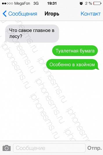 СМС-приколы