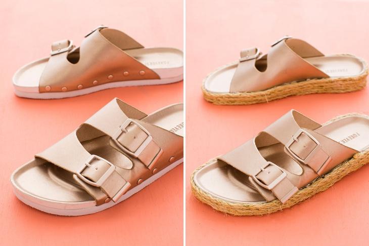 Как привести подошву обуви в приличный вид