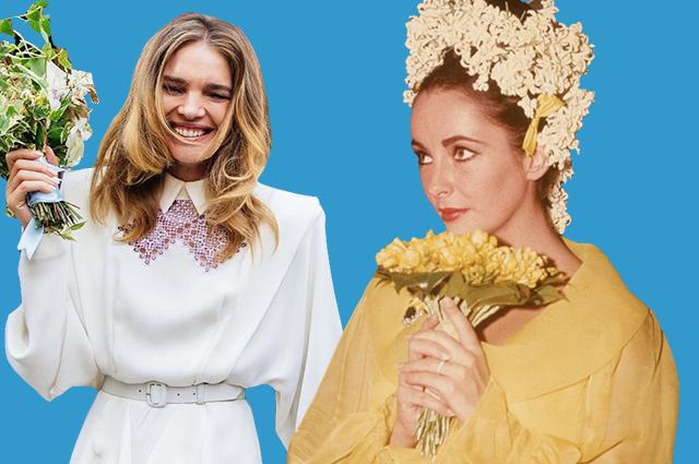 Мэрилин Монро, Наталья Водянова, Элизабет Тейлор и другие звезды, выбравшие нетрадиционные свадебные платья Звездный стиль