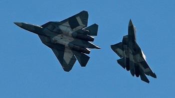 Опубликовано видео посадки Су-57 в Сирии