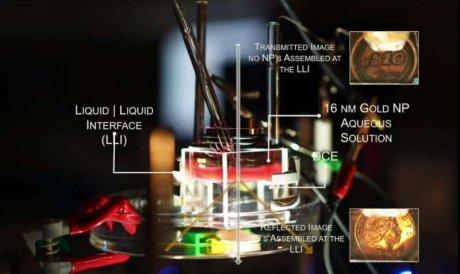 Массивы наночастиц могут по команде превращать окно в зеркало и наоборот
