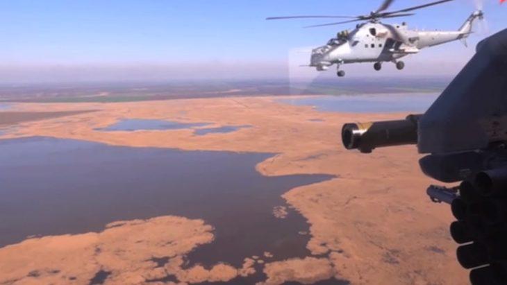 «Огненный кулак» ВКС РФ: пуск ракеты «Бронебойщик» попал на видео