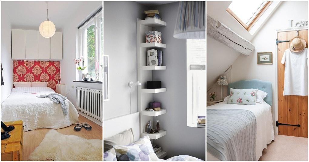 Компактно и функционально: маленькая спальня может быть удобной