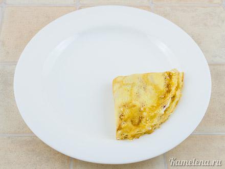 Блинчики со сливочным сыром и ягодным соусом — 9 шаг