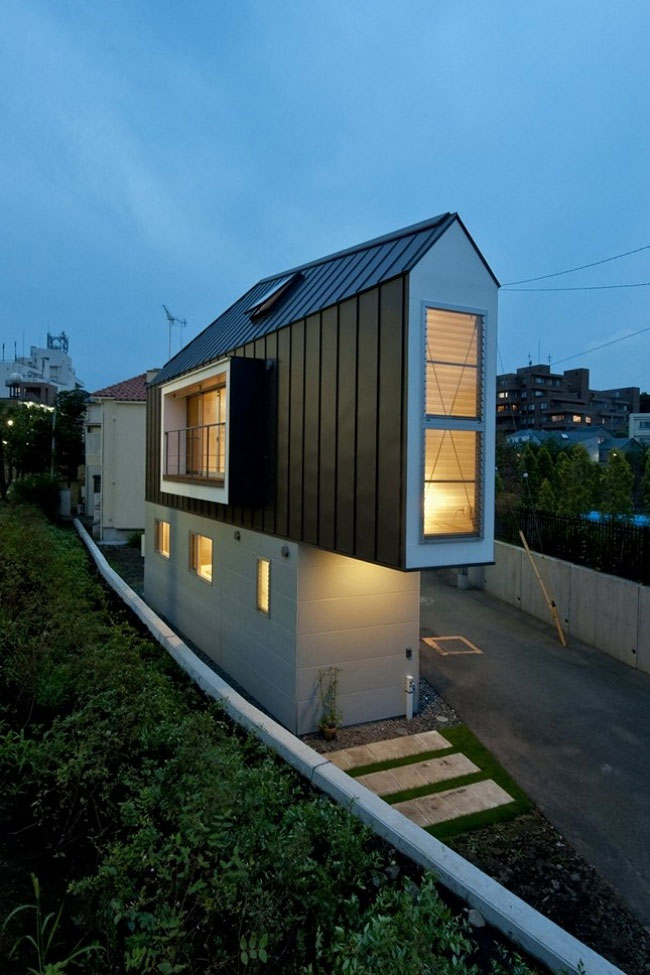 Миниатюрный дом в Японии