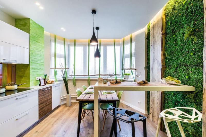 Cтиль эко — выбор городских жителей и концептуальный интерьер