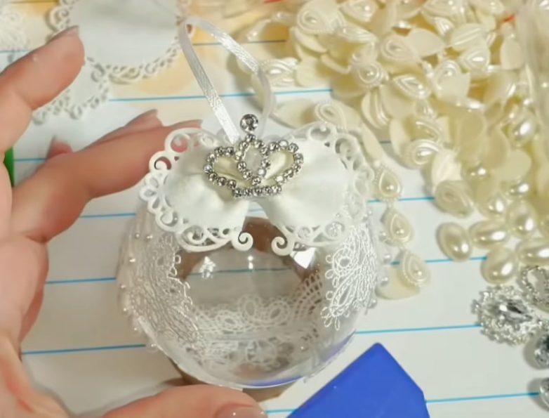 Очень красивые новогодние шары, которые станут главным украшением праздника декор,мастер-класс,новогодние украшения