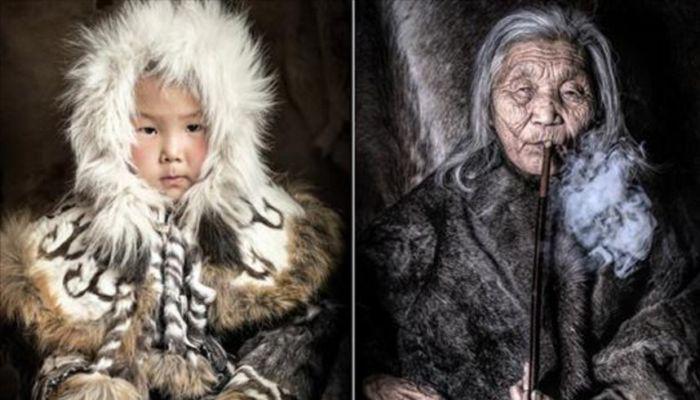 На краю Земли: Колоритные фотопортреты представителей коренных народов Севера