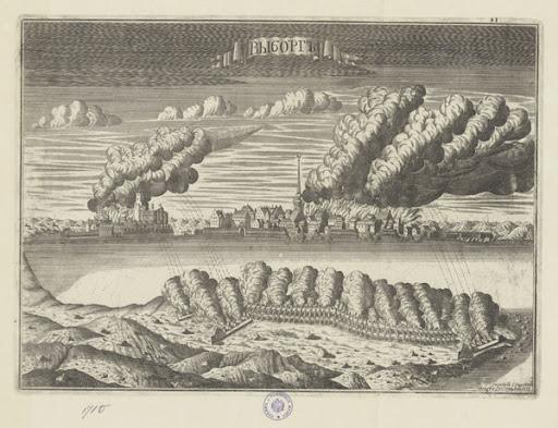 Осада Выборга, 1710. <br>