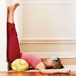 Yoga Poses for Insomnia (with pictures) I'm not really into the whole yoga thing, for personal reasons, but these are probably good exercises.