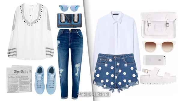 Как выглядеть стильно в джинсовых вещах летом