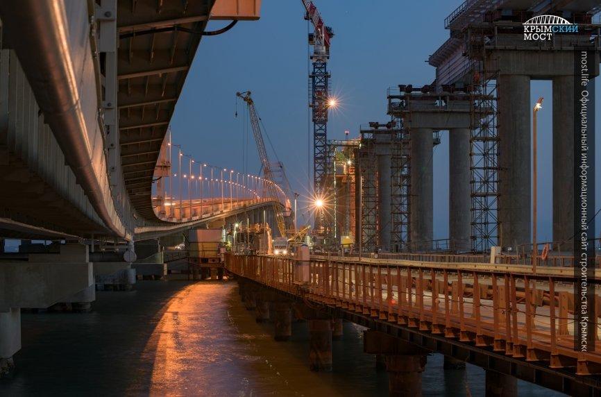 Стала известна дата прохода первого пассажирского поезда по Крымскому мосту