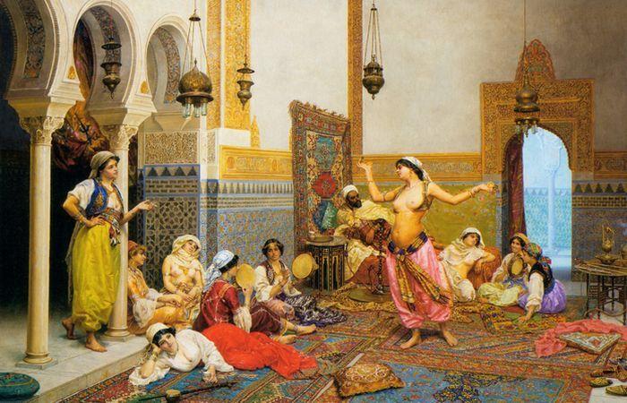 История жизни женщин в гаремах