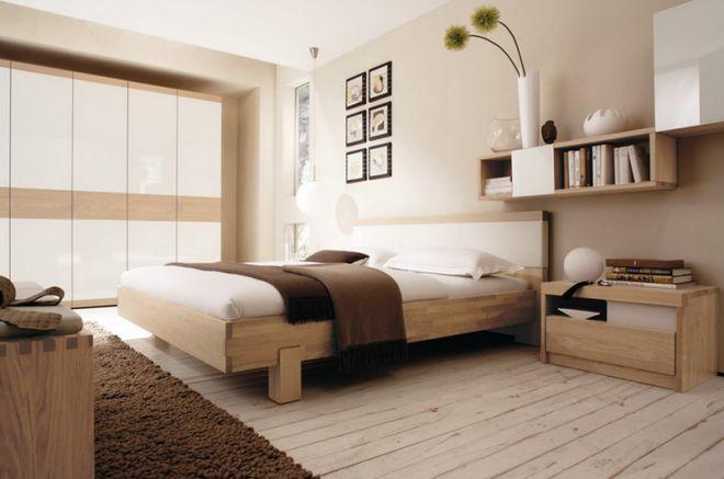 Спальня - дизайн интерьера, оформление
