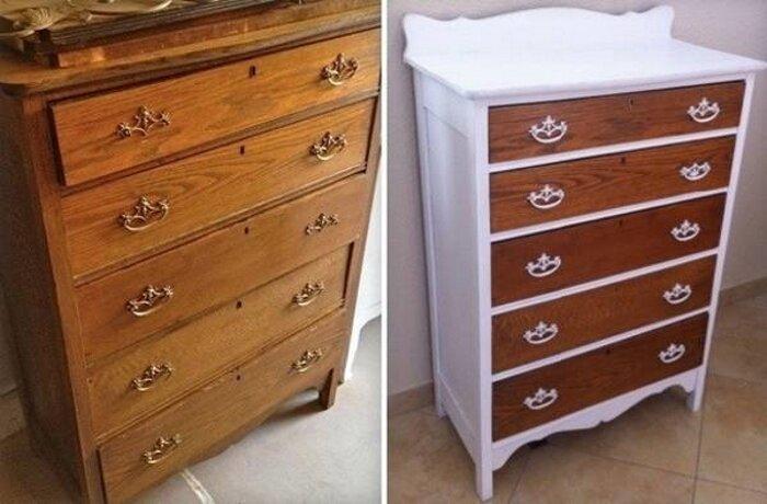 Смотри, как здорово получилось! до и после, идея, мебель, ремонт, своими руками, фантазия
