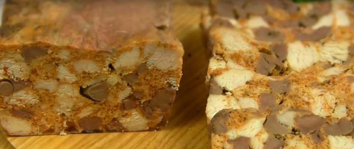 Домашняя ветчина - вкусная часть мясной нарезки