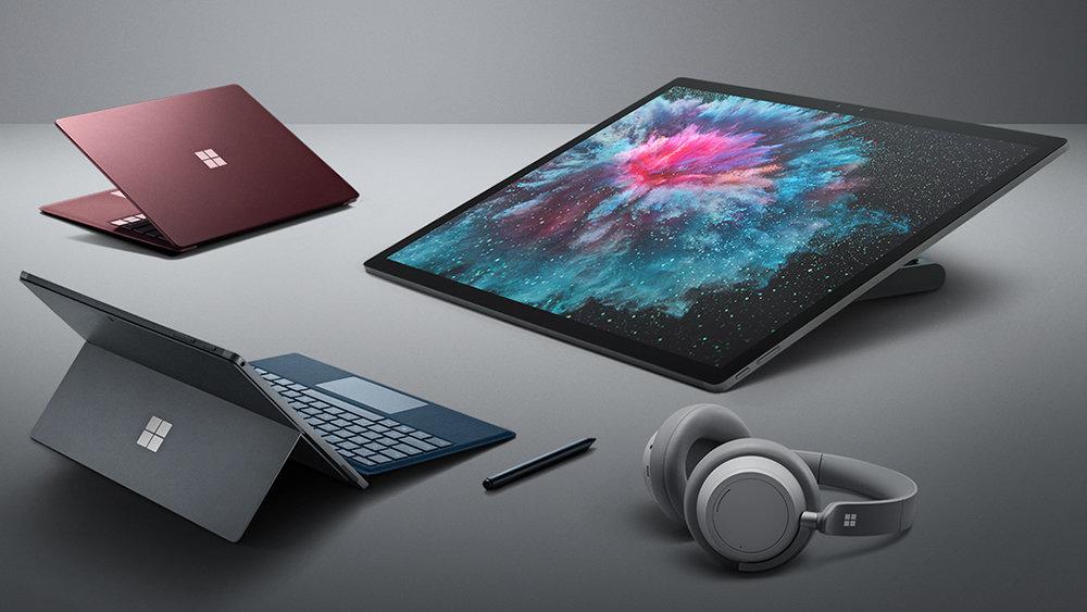 Microsoft представила новые планшеты и наушники, названы цены