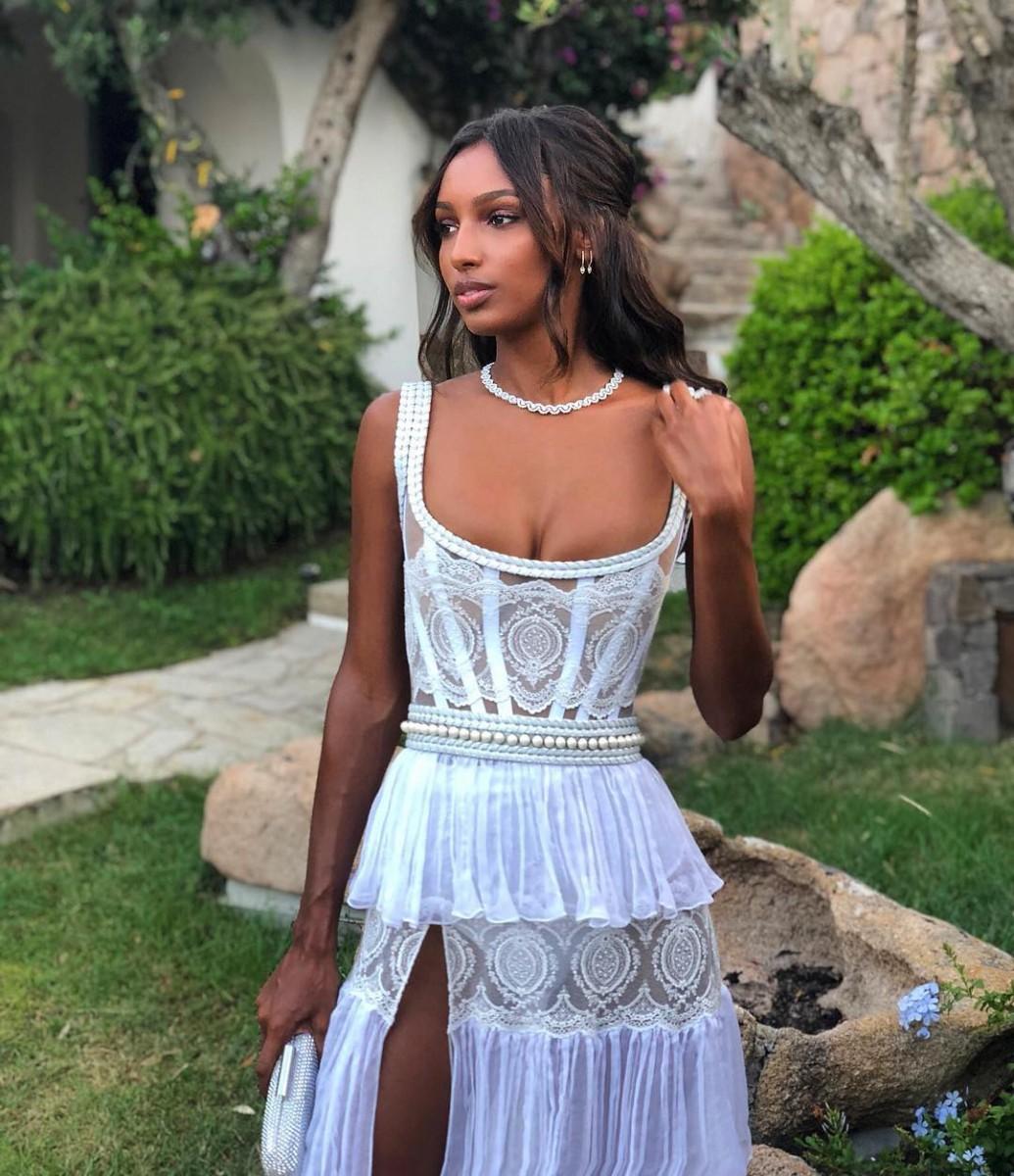 11 фото модели с необычной красотой Jasmine Tookes